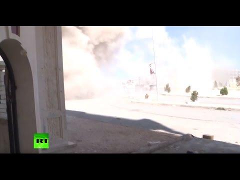 RT crew comes under fire as Aleppo militants launch massive new assault