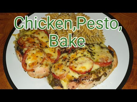 Chicken Pesto Bake | How to Perfectly Bake Chicken Fillets