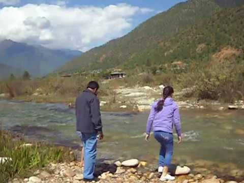 Natural Beauty Of PARO BHUTAN