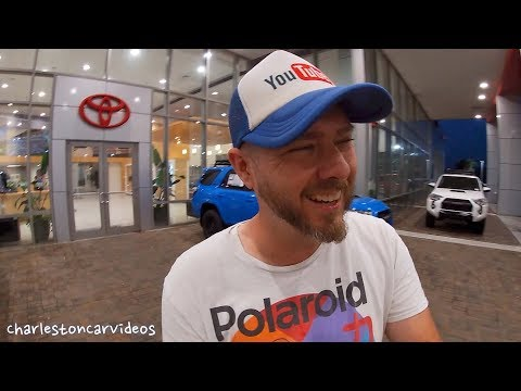 My First Time Touring A Toyota Dealership & It Was Really Quite?!?