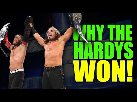 Real Reasons Why The Hardy Boyz WON WWE Smackdown Tag Titles (9 April 2019) - WWE Rumours