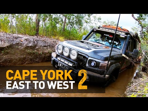 🔥WE DID IT! Crossing Cape York Hauling 7m Trailers (Frenchman's Track, North QLD) (Part 2 Of 2)