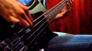 kreator -  tormentor bass cover