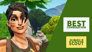 Best Combos | Jungle Scout | Fortnite Skin Review