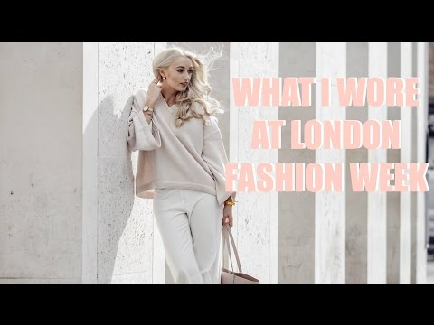 WHAT I WORE AT LONDON FASHION WEEK - 5 Outfit Pre-Spring Lookbook   |   Fashion Mumblr