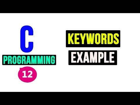 C Programming Tutorial - Keywords thumbnail