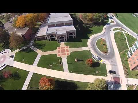 Aerial View Wichita State University
