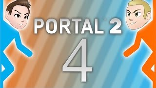 Portal 2 Co-op: Stupidity - EPISODE 4 - Friends Without Benefits