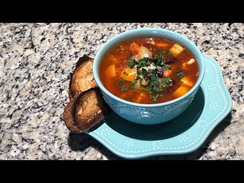 Cooking Break with Dani? | Minestrone - Start to finish!