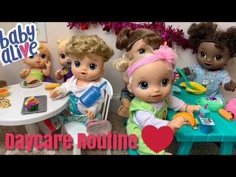 Baby Alive Daycare Routine Valentine's Day