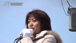 160412 【北海道】衆議院北海道第5区選出議員補欠選挙・池田真紀候補 第一声