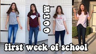 first week of school outfits | ootw