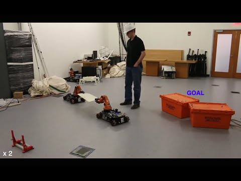 Multi-robot navigation in formation via sequential convex programming