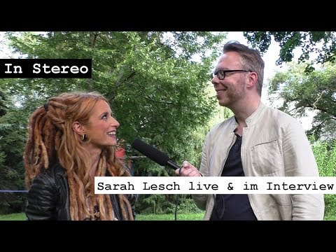 In Stereo: Sarah Lesch live & im Interview