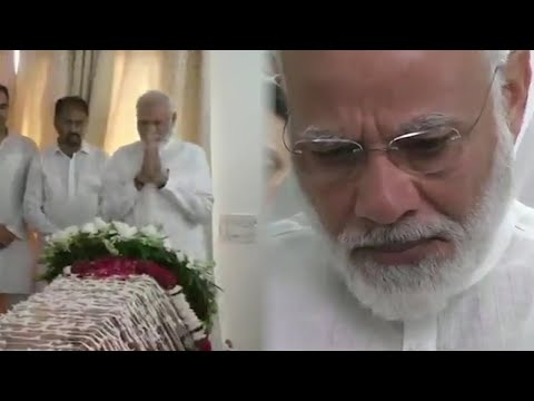 RIP Sushma Swaraj: PM Modi pays last respect to ex-external affairs minister