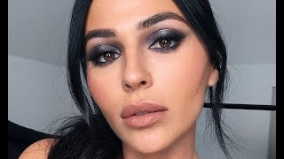 NYE MAKEUP TUTORIAL: SMOKEY EYE MAKEUP  | Teni Panosian