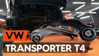 Kā un kad mainīt aizmugurē kreisais Motora stiprinājums VW TRANSPORTER IV Bus (70XB, 70XC, 7DB, 7DW): video pamācības