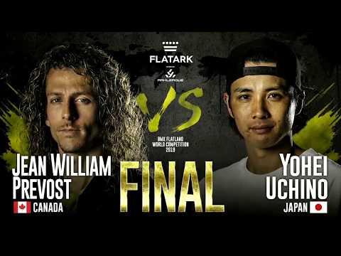 FLAT ARK 2019 ''FINAL BATTLE'' Jean William Prévost Vs. Yohei Uchino