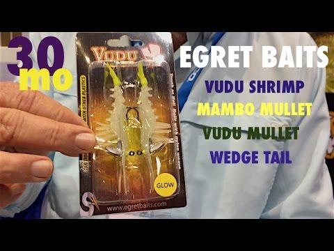 EGRET BAITS VUDU SHRIMP - Review- Biloxi Mississippi Boat Show