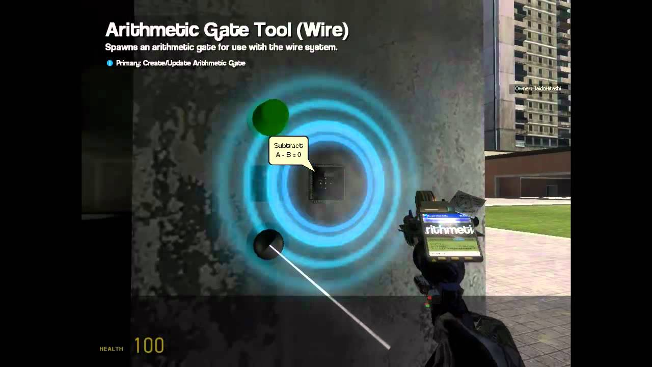 Wire mod gmod download.