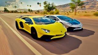 Forza Horizon 3 - G27 - Campeonato De Lamborghini Aventador VS Ferrari
