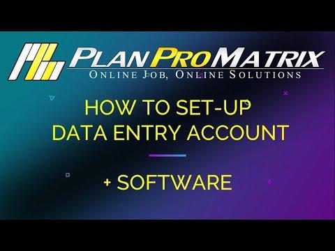PPM DATA ENTRY SET UP 2018