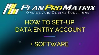 PPM DATA ENTRY SET UP 2018 (2019 version is available in the description below)