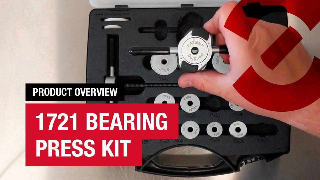 e2ece9ccb43 Unior 1721 Bearing Press Kit