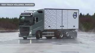 Volvo Trucks - Increased safety on slippery roads with Volvo Trucks