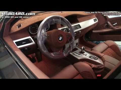 G-Power BMW M5 Touring Hurricane RS Interiour In Super Detail: 17 Min