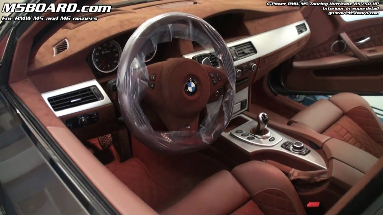 G Power Bmw M5 Touring Hurricane Rs Interiour In Super Detail 17