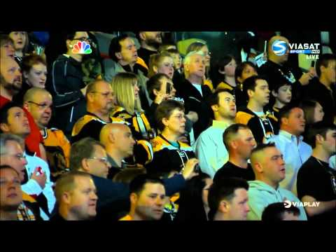 TD Garden tribute to Boston - FULL - Sabres @ Bruins - 4/18/2013 - National Anthem