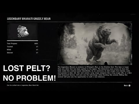 what to do with legendary bear pelt