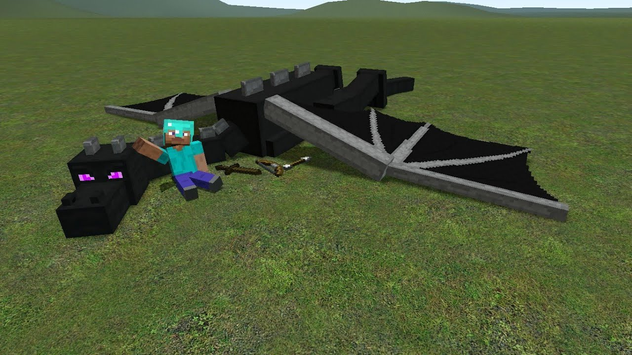 how to tame a dragon minecraft