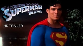 SUPERMAN THE MOVIE (1978) Trailer #1 - Christopher Reeve - Marlon Brando - Margot Kidder