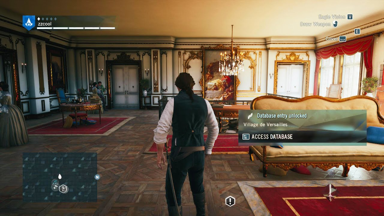 Assassins Creed Unity Pc Gameplay Max Ultra Settings Hd Youtube
