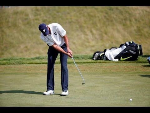 Pro Golfer Questioned About Anchoring His Putter