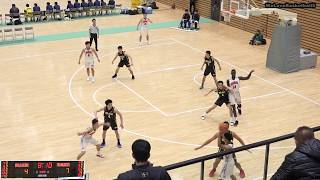 開志国際vs東海大諏訪(Q1)高校バスケ 2019 北信越新人戦決勝