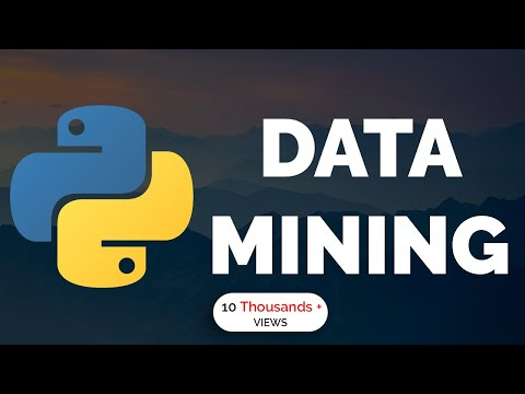 Learn Python Programming - 3 - Data Mining With Python