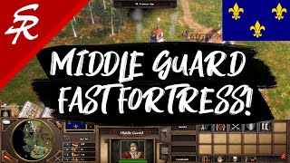 France GRENADIER Fast Fortress!!! | Strategy School | Age of Empires III