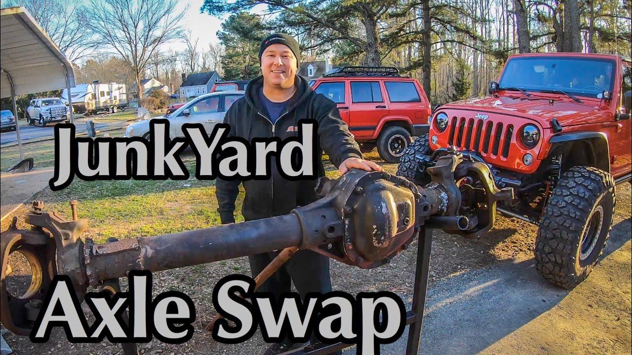 Jk 1 Ton Axle Swap - Episode 1