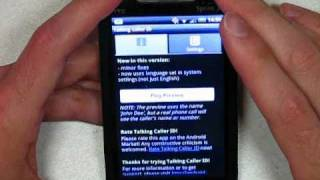 Talking Caller ID v2.4 --- Android Ringtone that Speaks Caller ID