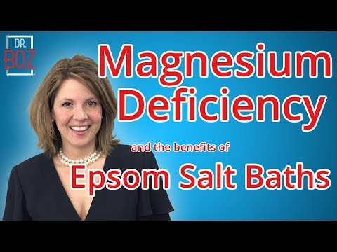 Magnesium Deficiency And The Benefits Of Epsom Salt Baths (Float Spas)