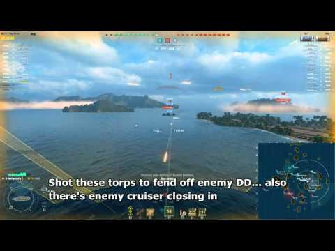 Gremyashchy short clips - Tier 5 Soviet Destroyer