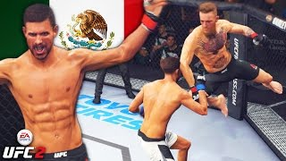 Yair Rodriguez Goes To WAR With Conor McGregor and Jose Aldo! EA Sports UFC 2 Online Gameplay