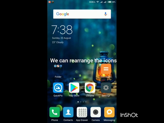 How to lock/unlock home screen layout in miui
