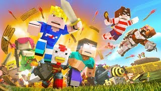 "Minecraft Song ""Fight With Me"" - Clash of Clans 