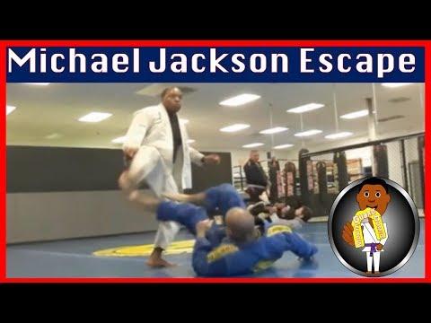 BJJ Roll No. 98 - Michael Jackson Escape - Bakari w/Tre at Smiley Academy