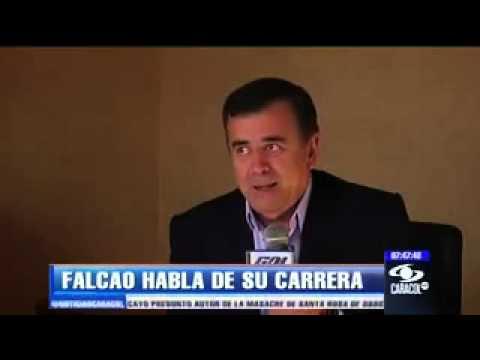 Falcao García se confiesa en exclusiva con el Gol Caracol. Parte 1.