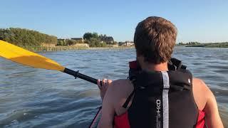 Remontée du havre de la Vanlée en Kayak